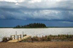 Stürmischer Himmel Stockbild
