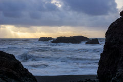 Stürmischer Ozean Lizenzfreies Stockfoto