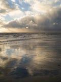 Stürmischer Strand Stockbild