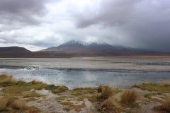 Stürmischer Tag an der Atacama-Wüste Bolivien Lizenzfreies Stockbild