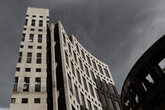Stürmisches Kolosseumgebäude Lizenzfreie Stockfotos