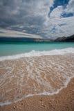 Stürmisches Meer stockfotos