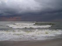 Stürmisches Meer. Lizenzfreie Stockfotografie