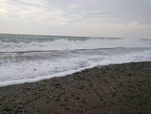 Stürmisches Meer Stockbild