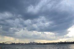 Stürmisches Sydney Stockbild