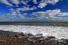 Stürmisches tropisches Meer Lizenzfreie Stockfotografie