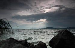 Stürmisches Wetter Stockfotos