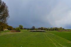 Stürmisches Wetter lizenzfreies stockfoto