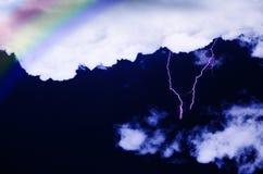 Stürmisches Wetter Lizenzfreie Stockbilder