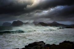 Stürmisches Wetter Lizenzfreie Stockfotos