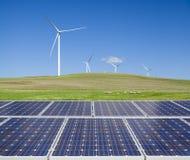 Stützbare saubere Energie Lizenzfreie Stockfotos