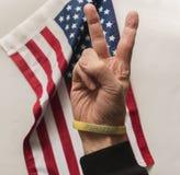 Stützen Sie unser Veteranenarmband Lizenzfreie Stockfotografie