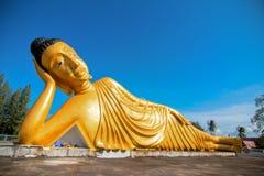 Stützender Buddha Stockbild