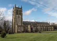 St乍得的教会Rochdale,英国 库存照片