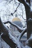 St以撒` s大教堂在圣彼得堡 免版税库存图片