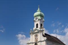 St伊丽莎白教会在布拉索夫,斯洛伐克 库存图片