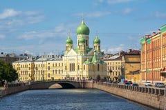 St伊西多的教会在圣彼德堡,俄罗斯 库存照片