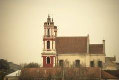 St传道者菲利普和詹姆斯教会,维尔纽斯 免版税库存图片