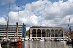 St凯瑟琳码头,伦敦,英国 免版税库存照片