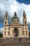 St史蒂文大教堂,布达佩斯,匈牙利 免版税图库摄影