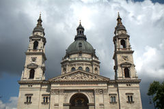 St史蒂文大教堂,布达佩斯,匈牙利 图库摄影