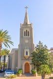 St在长的街道开普敦南非的马蒂尼鸡尾酒信义会 免版税图库摄影