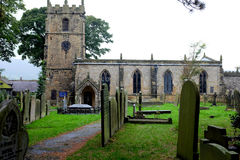 St埃德蒙的教会, Castleton 免版税库存照片