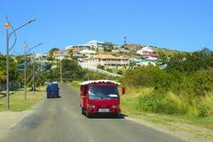 St基茨希尔,加勒比 免版税库存图片