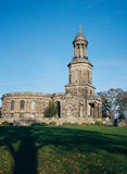 St孔屑教会舒兹伯利英国 免版税库存照片