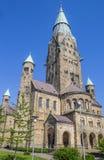 St安东尼氏族大教堂在历史城市赖内 库存图片