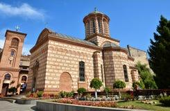 St安东教会老法院教会在布加勒斯特,罗马尼亚 库存图片