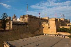 St安吉洛堡垒,马耳他 免版税图库摄影