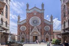 St安托万教会伊斯坦布尔土耳其 库存图片