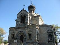 St尼古拉斯教会在Roznov 库存照片