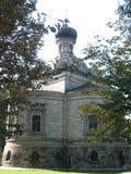 St尼古拉斯教会在Roznov 库存图片
