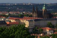 St布拉格捷克共和国的vitus大教堂 免版税库存照片