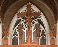 St戴维兹大教堂霍巴特 免版税库存照片