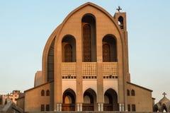 St指示科普特人的正统大教堂 免版税库存图片