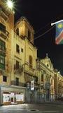 St教会  圣方济各在瓦莱塔 马耳他 免版税库存照片
