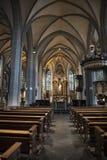 St朗贝蒂教会杜塞尔多夫 免版税库存图片