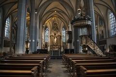 St朗贝蒂教会杜塞尔多夫 免版税库存照片