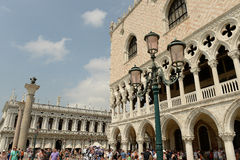 St标记正方形,威尼斯,意大利 库存照片