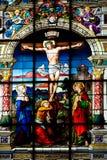 St格特鲁德s教会在Gamla斯坦 库存照片
