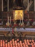 St玛丽亚,绘画,萨尔茨堡的大教堂 库存照片