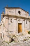 St玛丽亚della美德Nuova教会 马泰拉 巴斯利卡塔 意大利 库存照片
