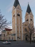 St约瑟夫教会在Weiden我 d Oberpfalz 免版税图库摄影