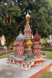 St蓬蒿在微型泰国公园 库存照片