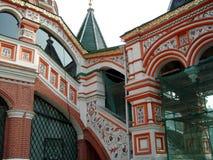 St蓬蒿大教堂-莫斯科红场 库存照片
