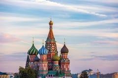 St蓬蒿红场的` s大教堂,莫斯科,俄罗斯 库存照片