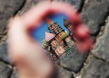 St镜子的蓬蒿的大教堂 库存图片